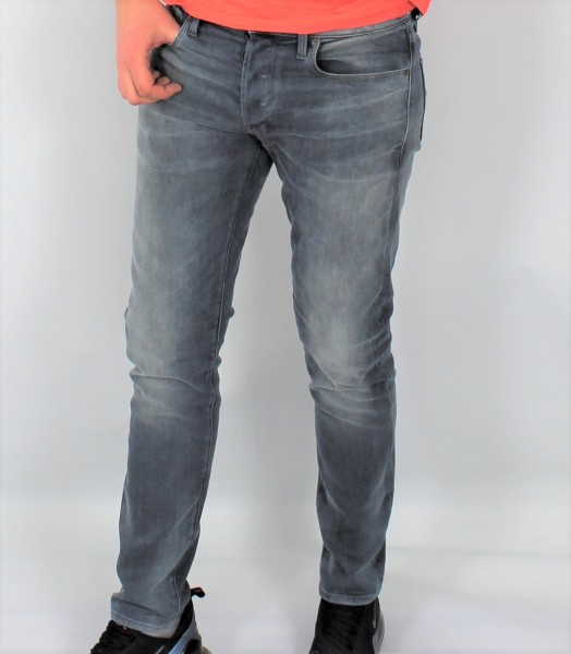 Jeans Slim faded quartz