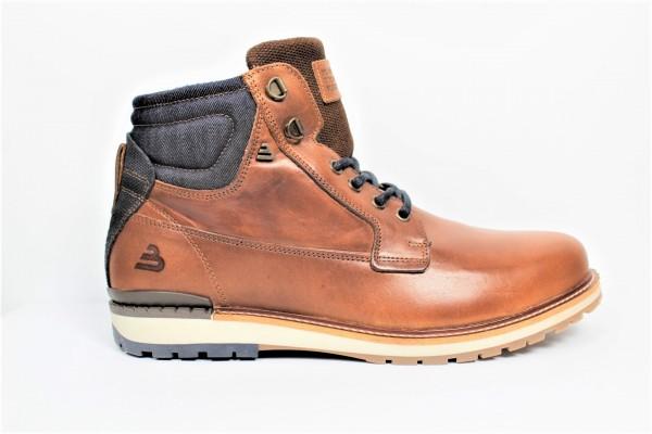 Schuhe Boots denim cognac