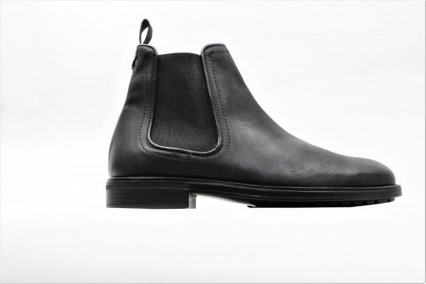 Schuhe Boots chelsea schwarz