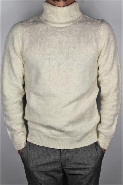 Strick Rolli wool elfenbein